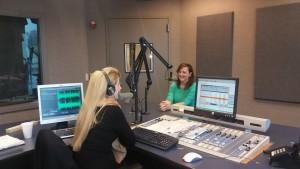 kelly suellentrop on michelle esswein radio show KLOU 103.3 in the news